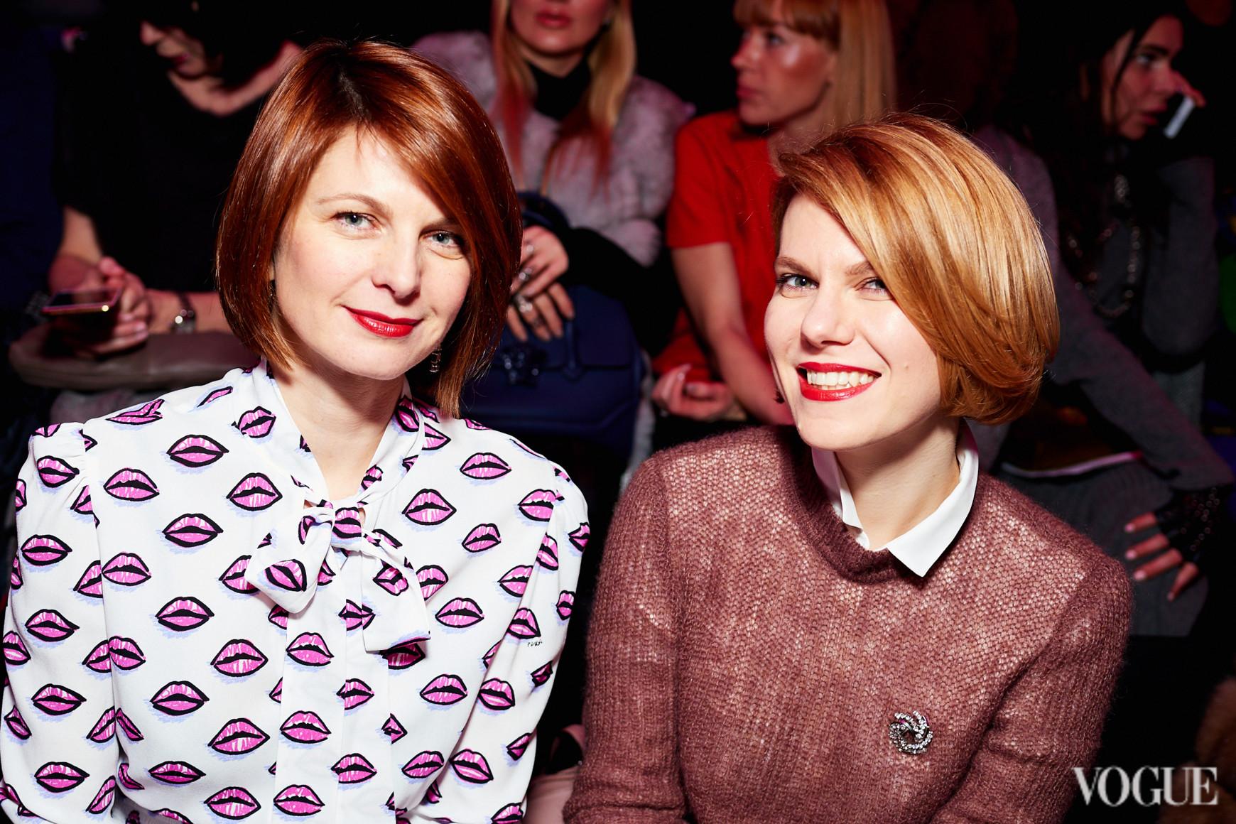 Катя Кулик и Наталья Листопад