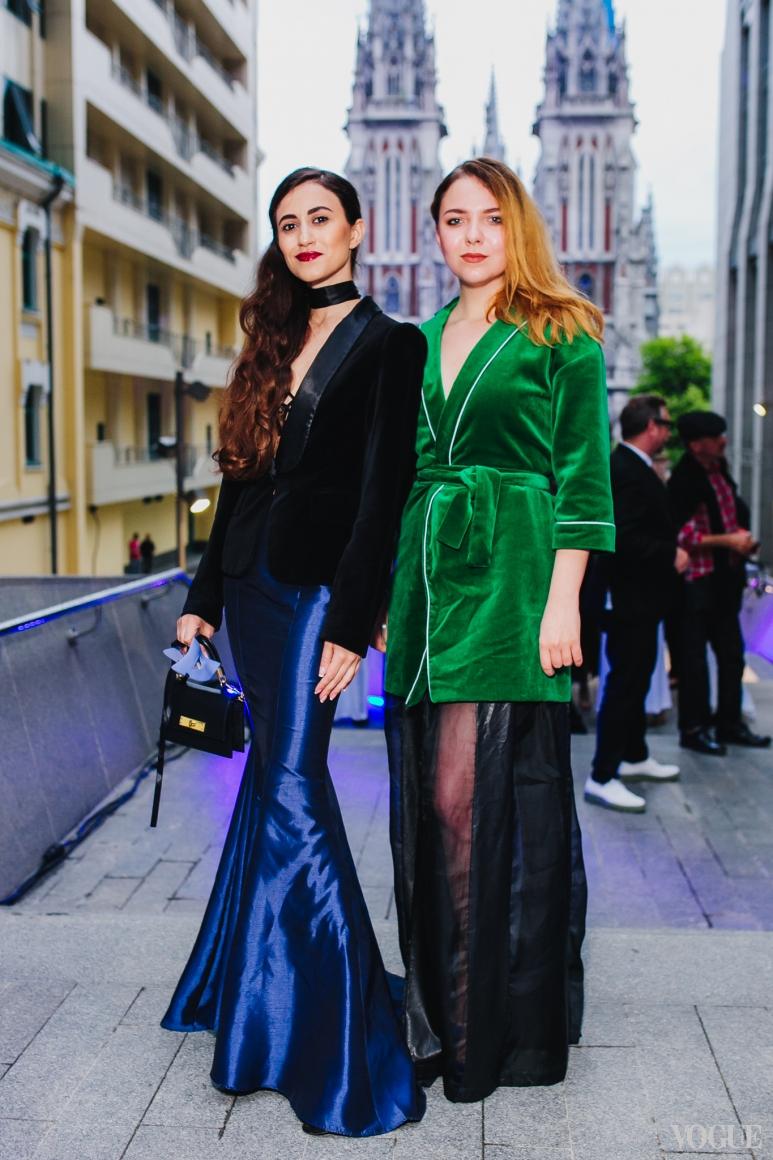 Тина Сизонова и Мария Маслий
