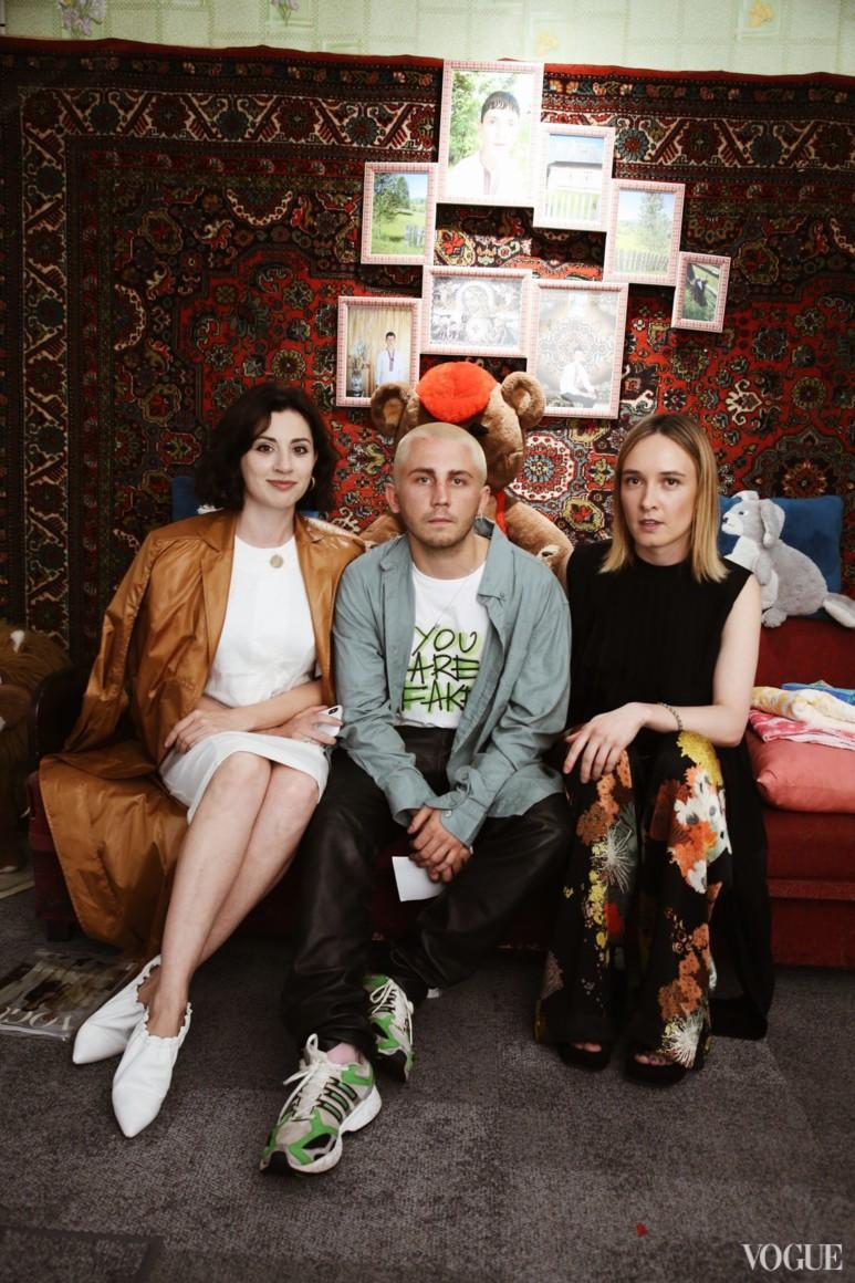 Светлана Бевза, Антон Белинский и Ольга Сушко