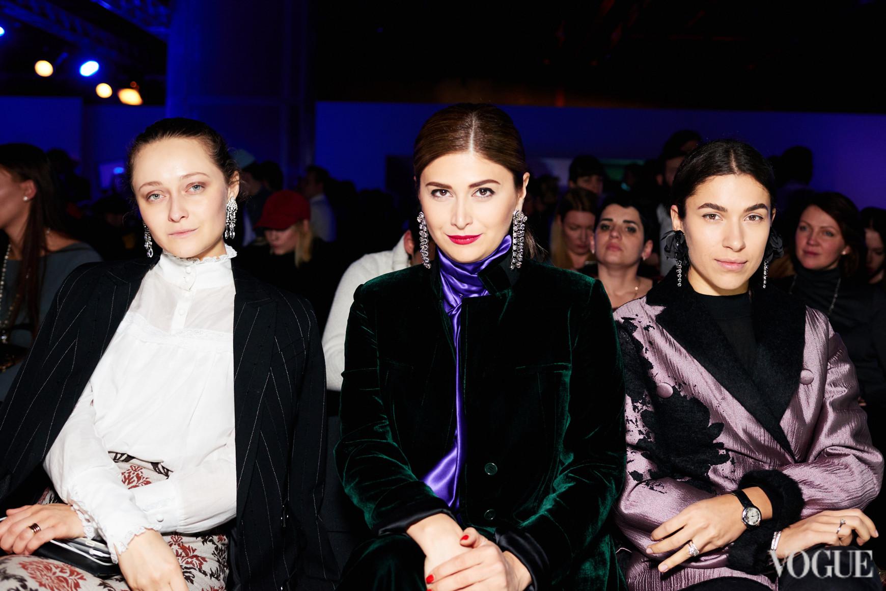 Дарья Шаповалова, Нина Васадзе и Ульяна Бойко