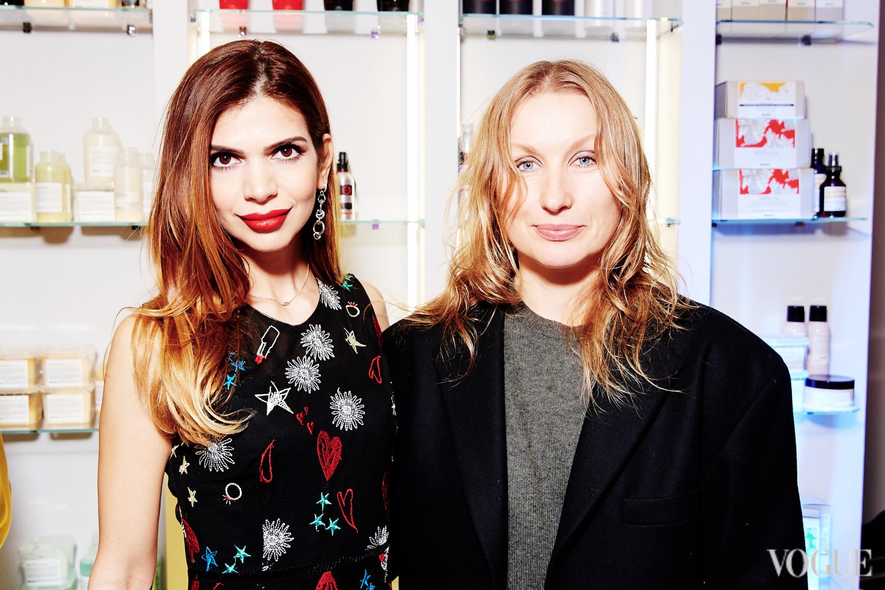 Алина Алиева и Ольга Козловская