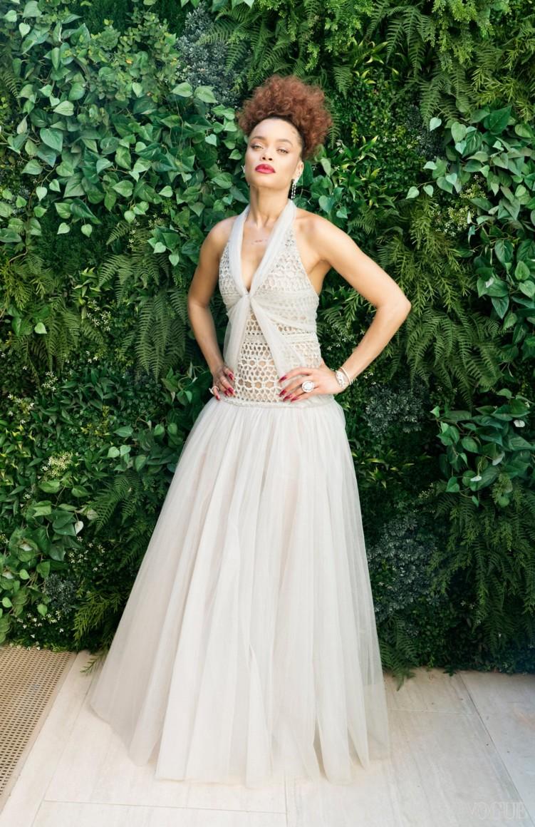 Андра Дэй в Chanel Couture
