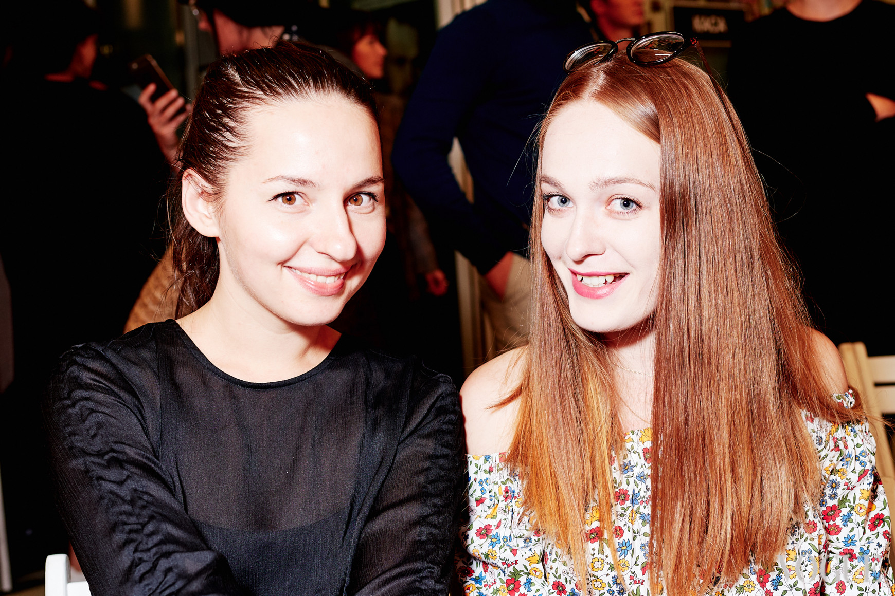 Виолетта Федорова и Анна Бугакова