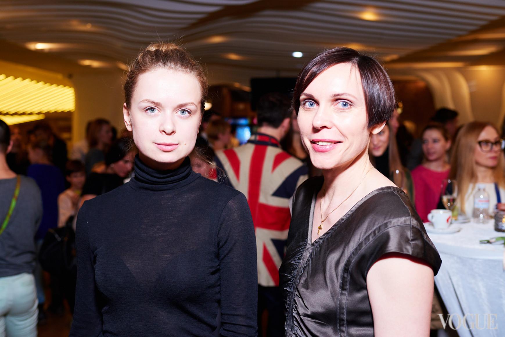 Виктория Худзык и Наталья Савченко