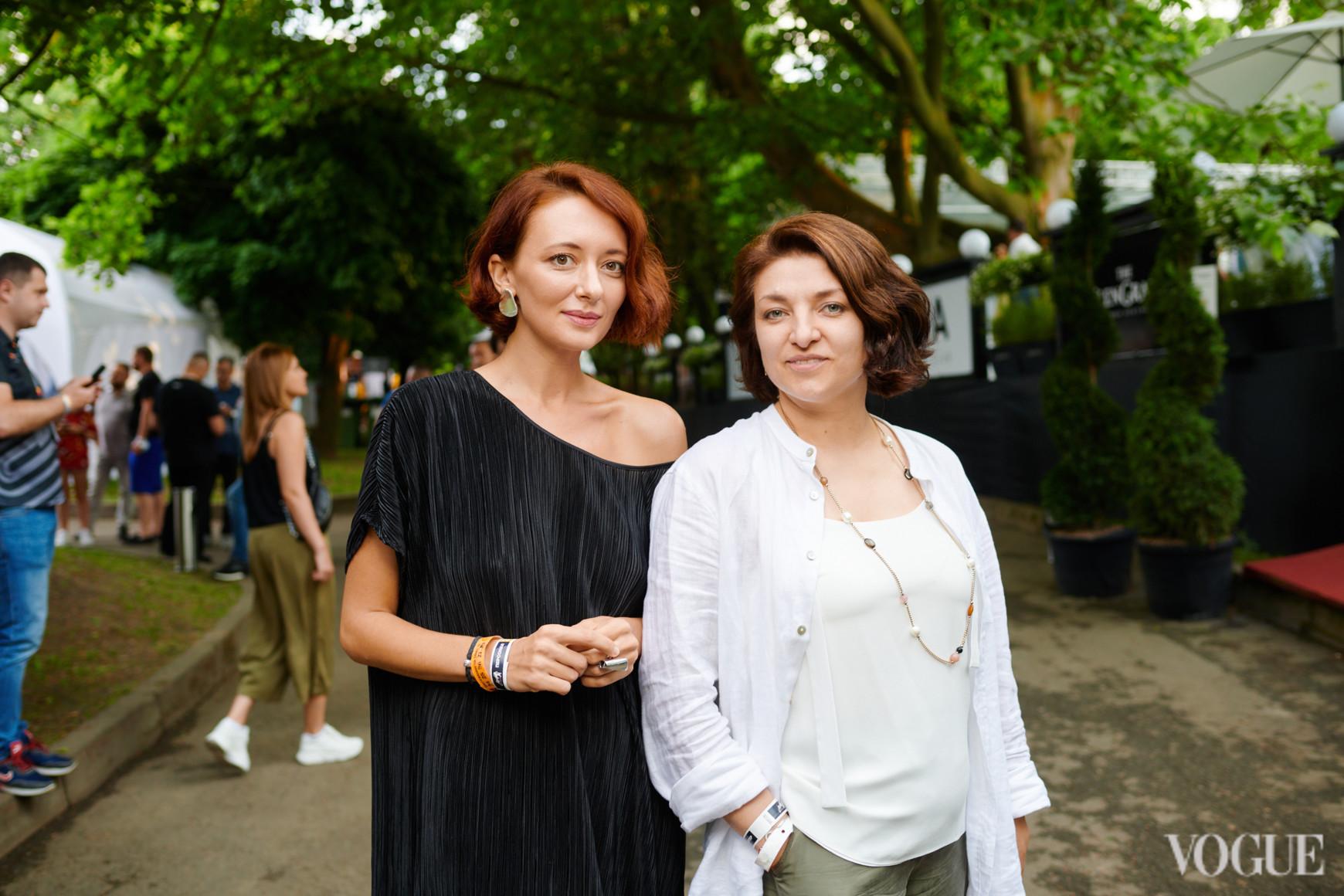 Иванка Крижановская и Марина Соловьева