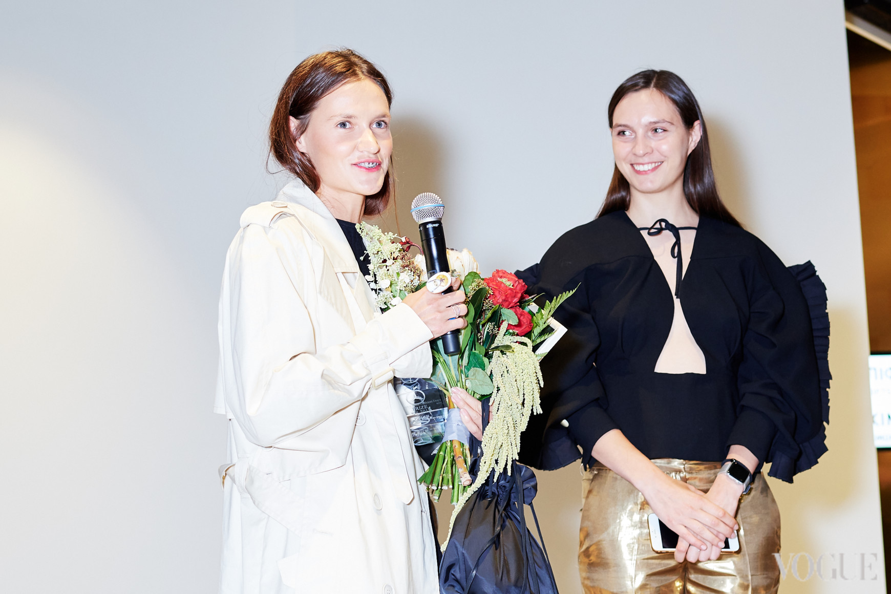 Соня Солтес и Наталья Моденова