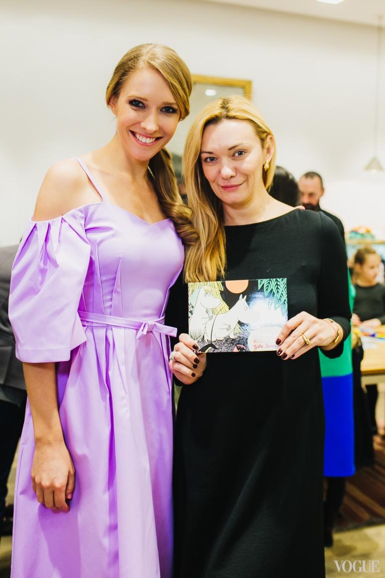 Катерина Осадчая и Ирина Ковальчук