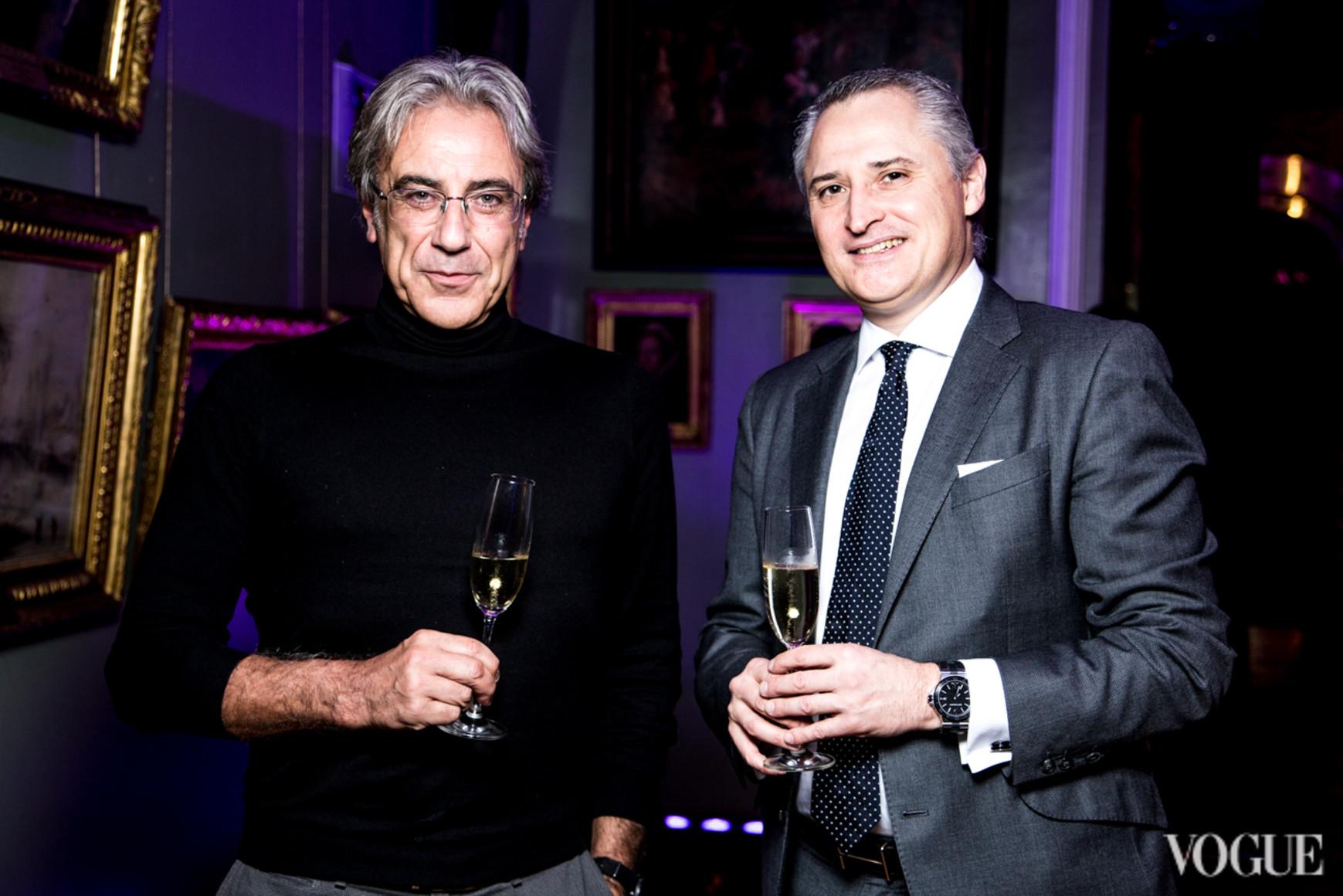 Маурицио Аскеро и Жан Кристоф Каттин