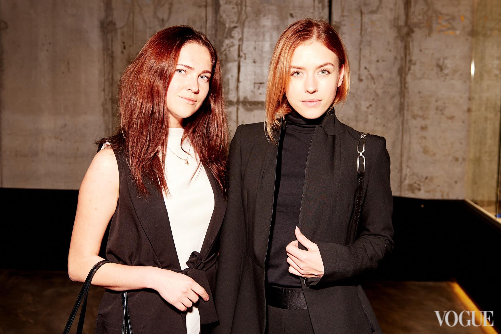 София Макарук и Анна Сацкая