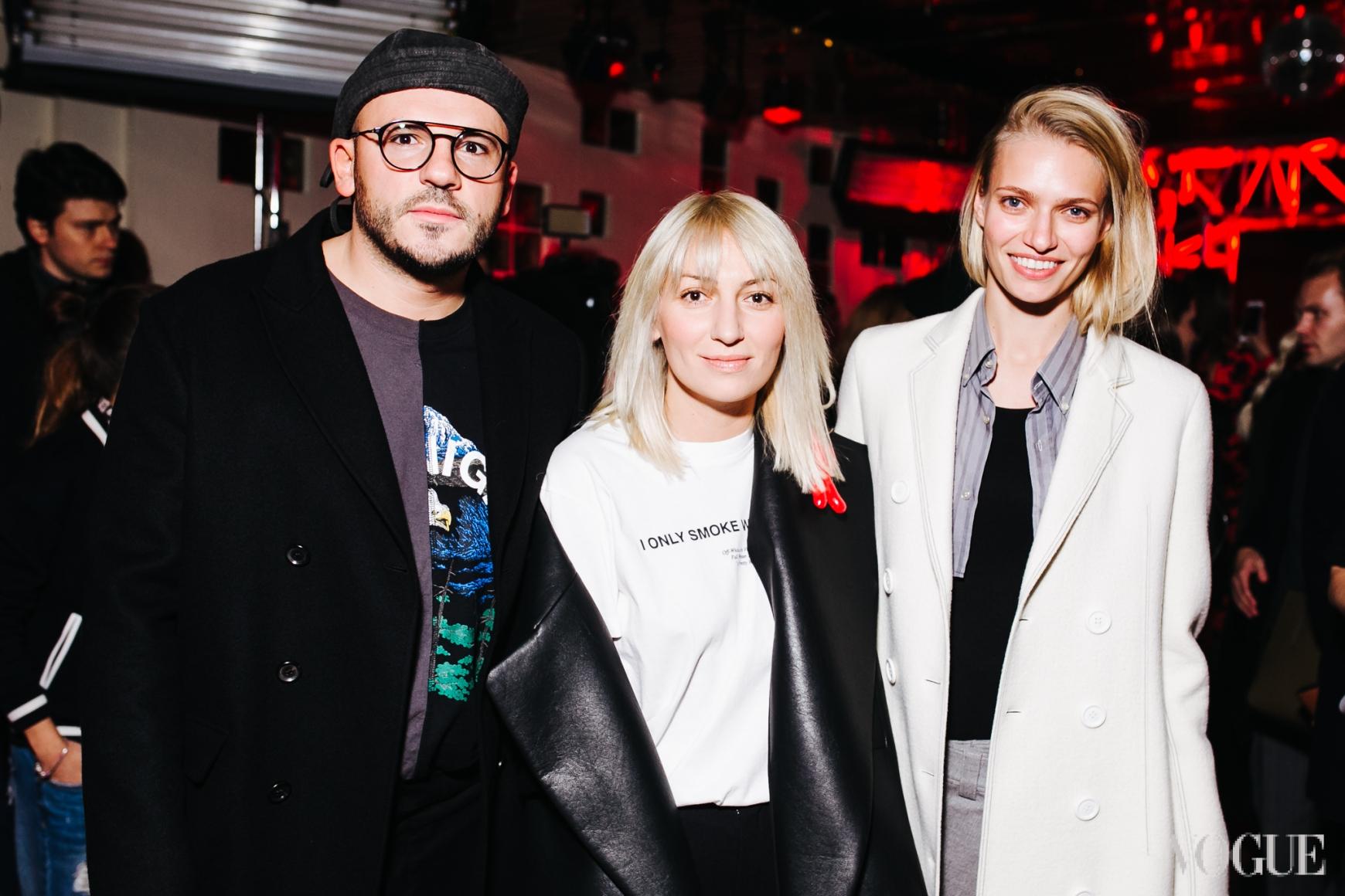 Дмитрий Евенко, Ася Мхитарян и Алена Киперман