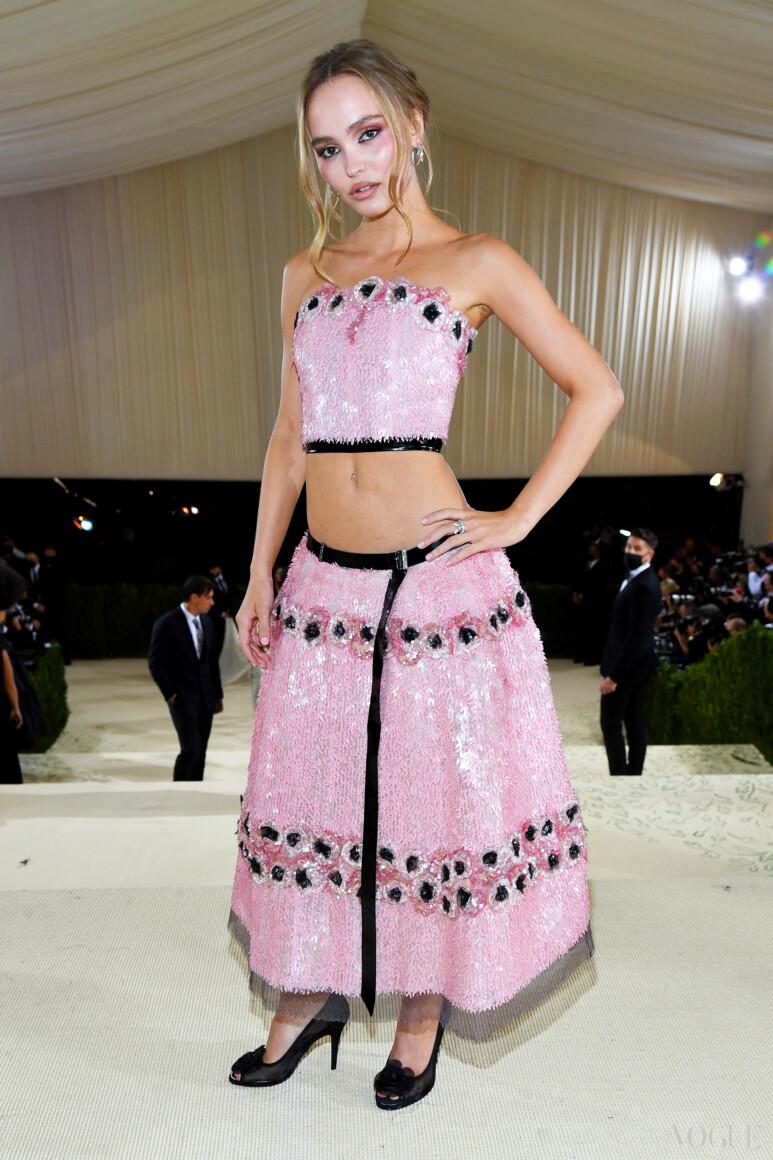 Лили-Роуз Депп в Chanel