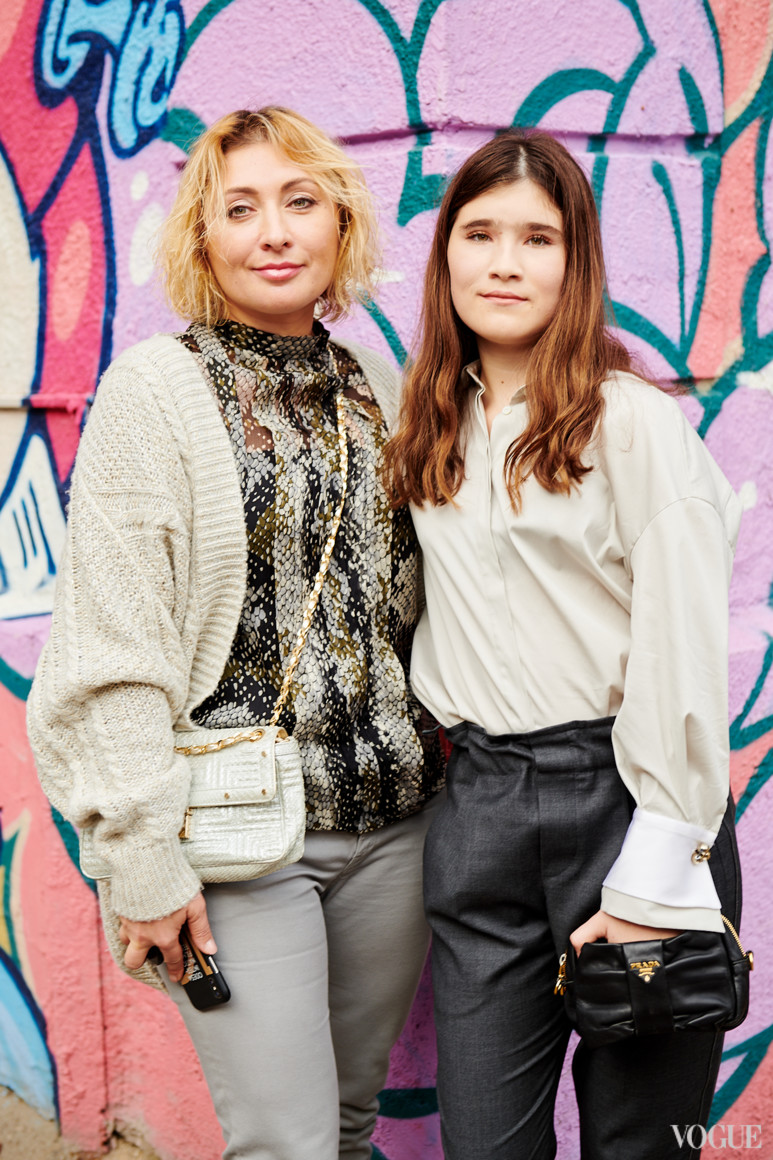 Виктория Тигипко с дочерью