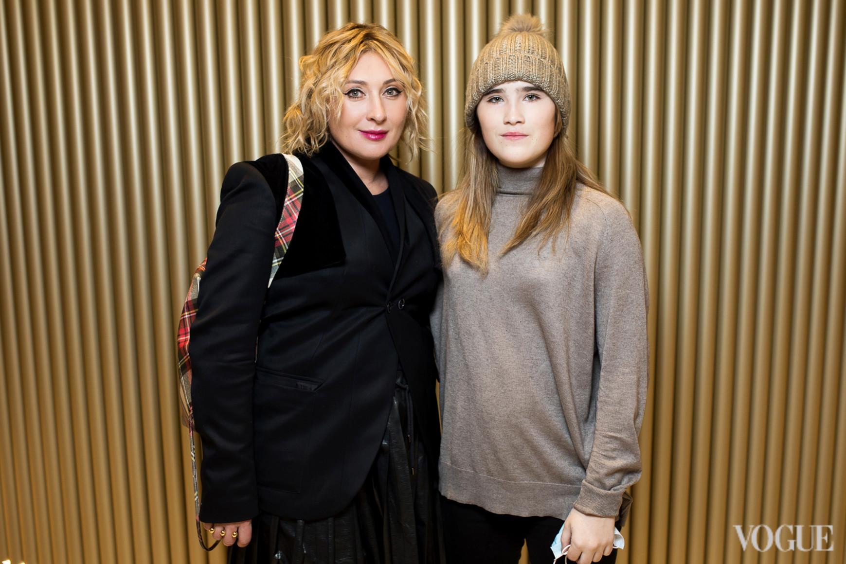 Виктория Тигипко и Анастасия Тигипко