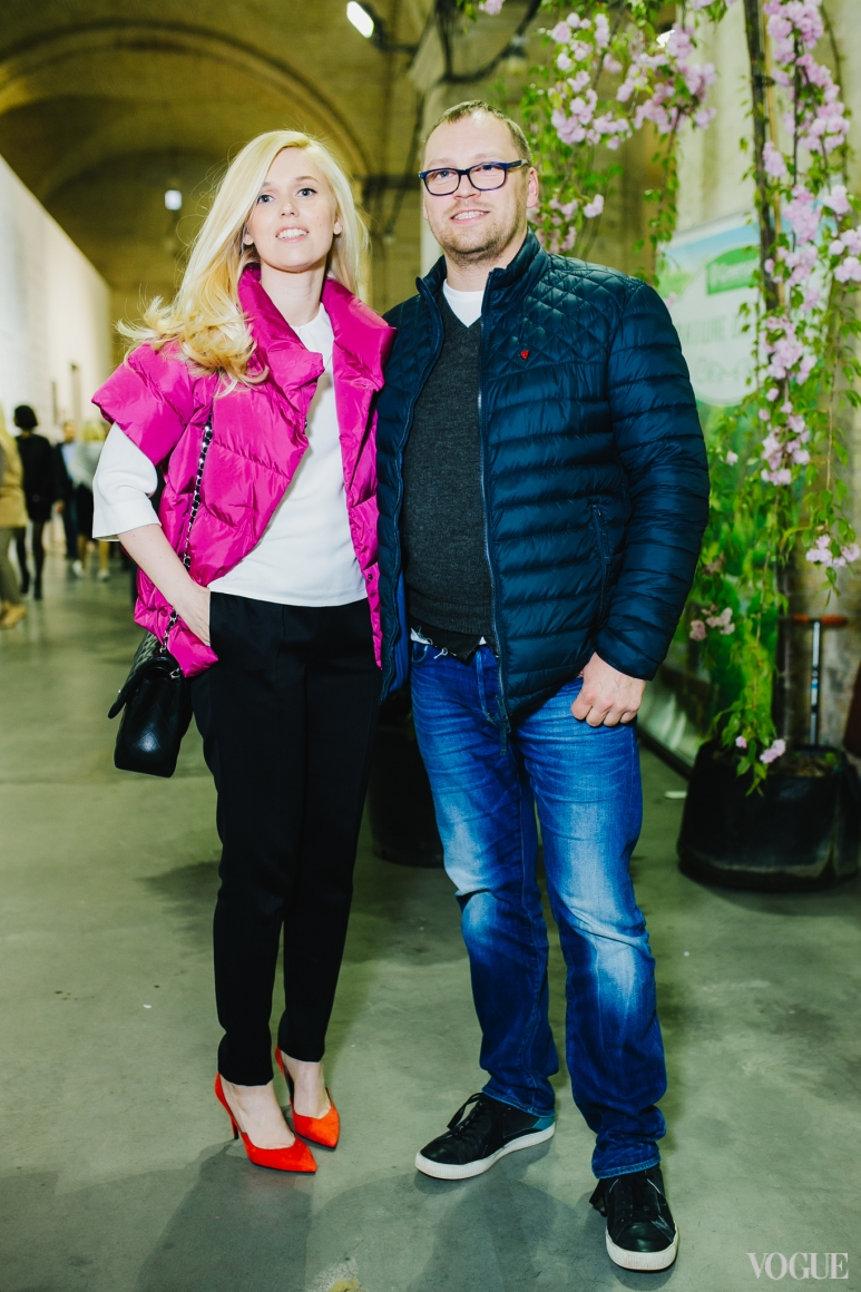 Ярослава Гресь и Андрей Федорив