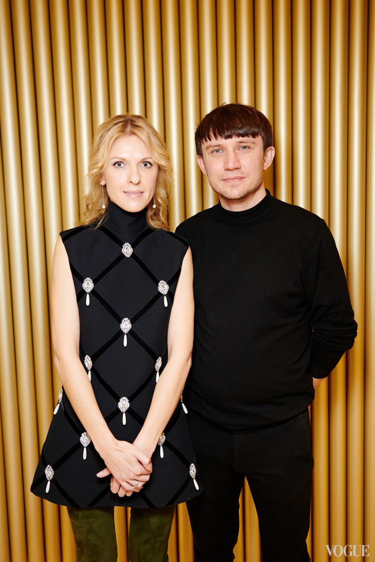 Юлия Костецкая и Александр Бреус