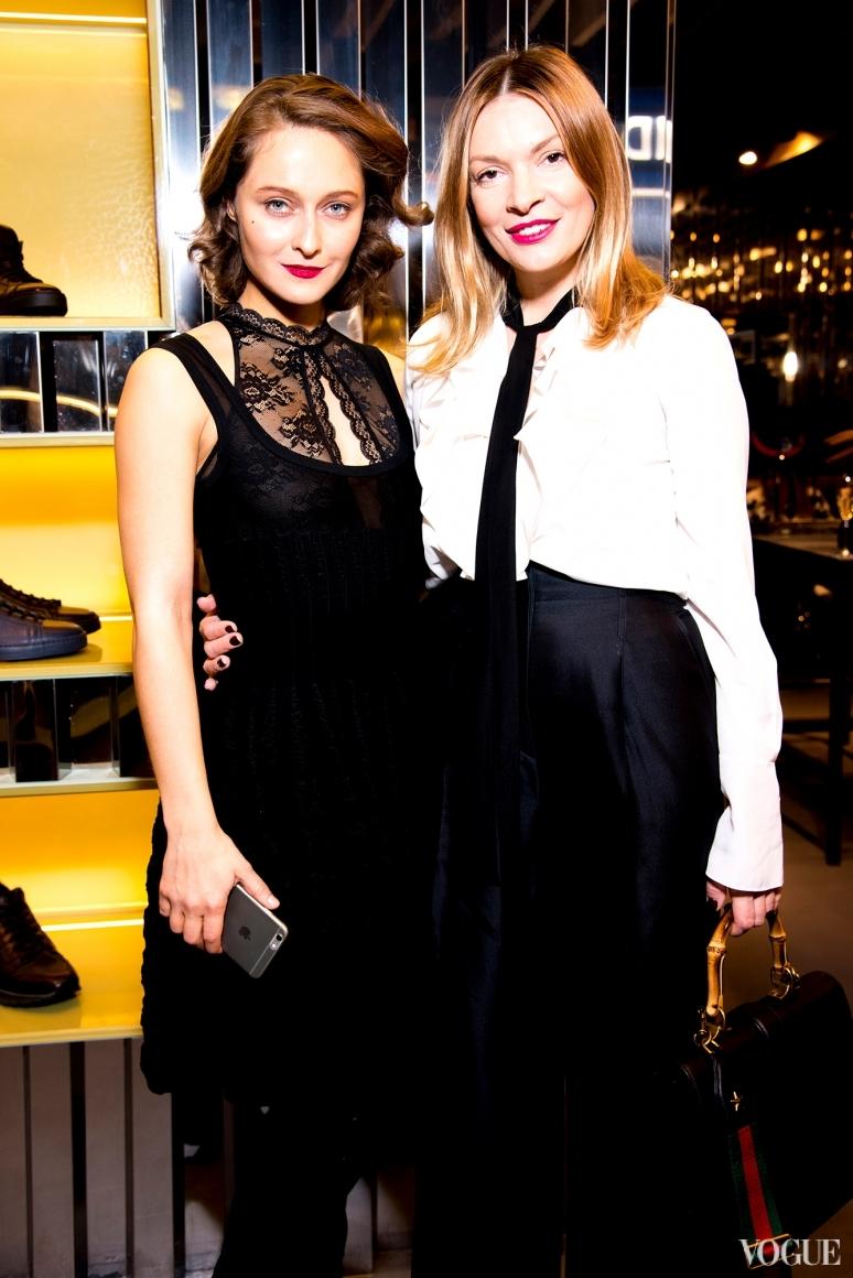 Дарья Шаповалова и Полина Неня