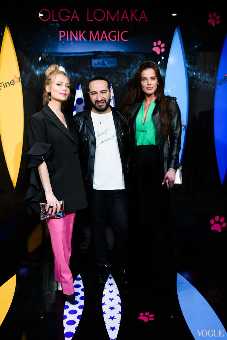 Ольга Ломака, Дмитрий Чограши и Анна Андрес