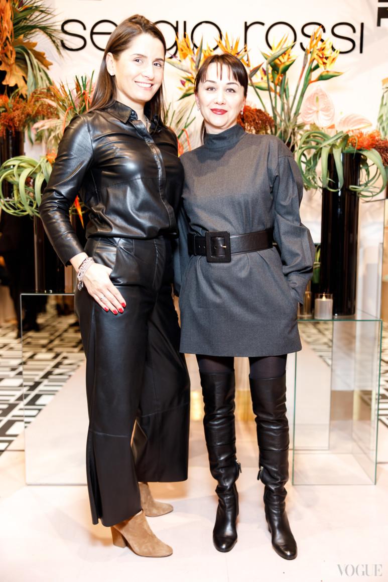 Ольга Чайка (слева)