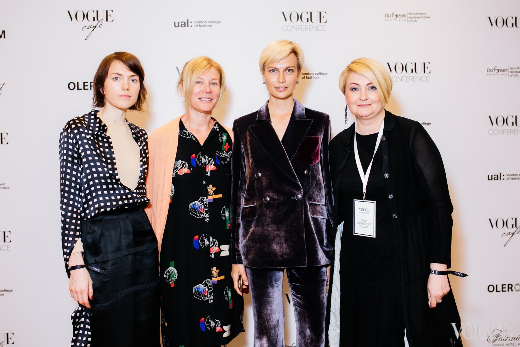 Лилия Литковская, Лилия Пустовит, Маша Цуканова и Ирина Данилевская