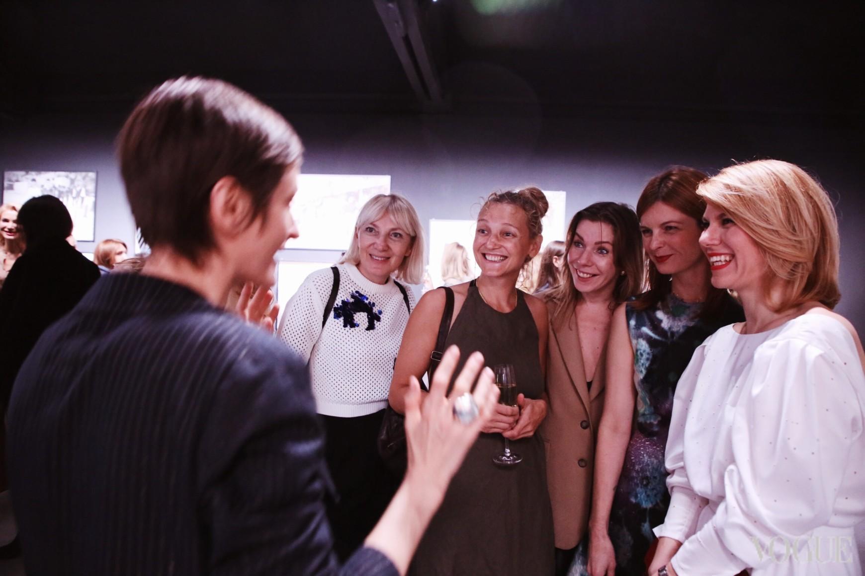 Татьяна Соловей, Татьяна Абрамова, Ольга Топольницкая, Екатерина Кулик и Наталья Листопад