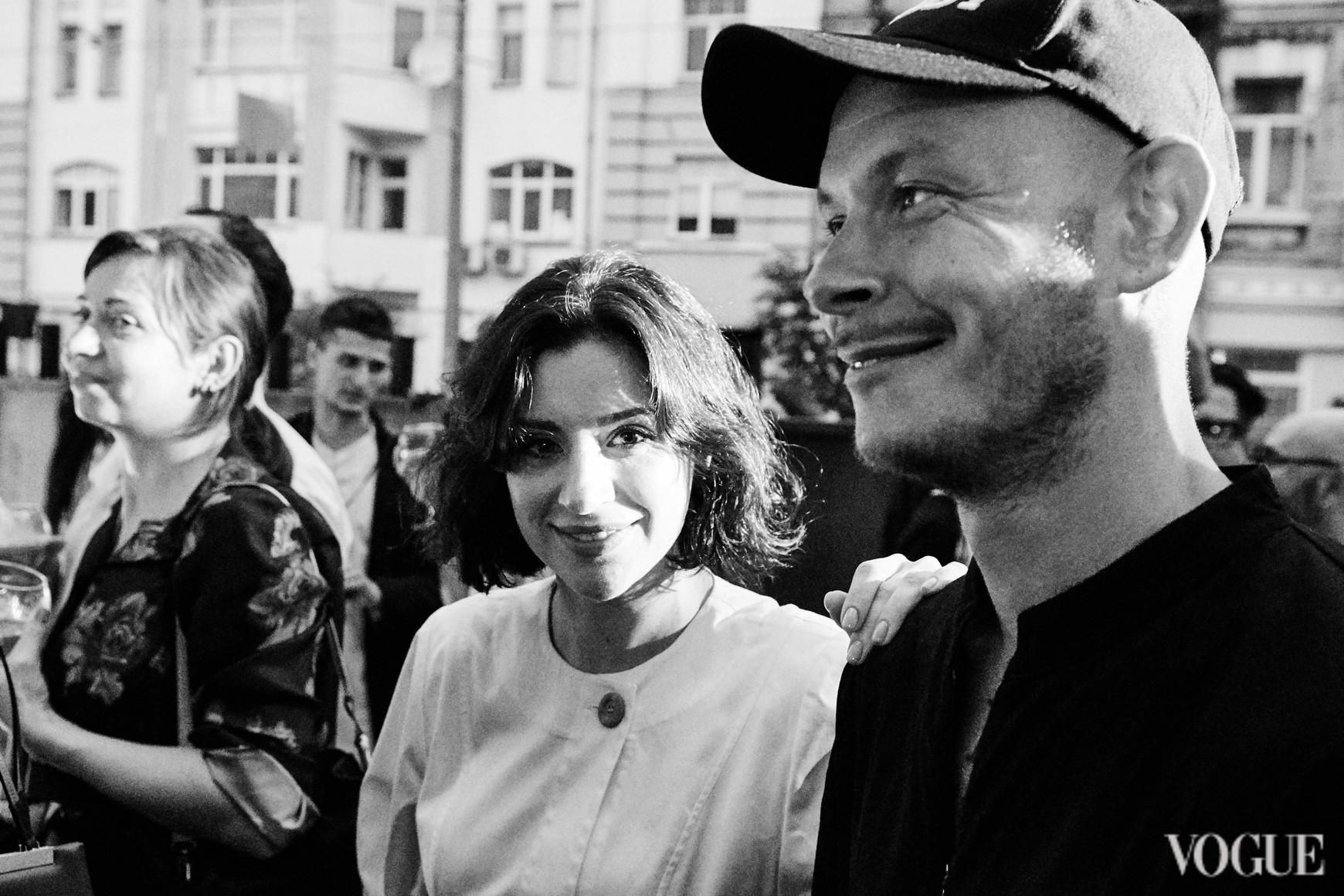 Светлана Бевза и Максим Некрасов