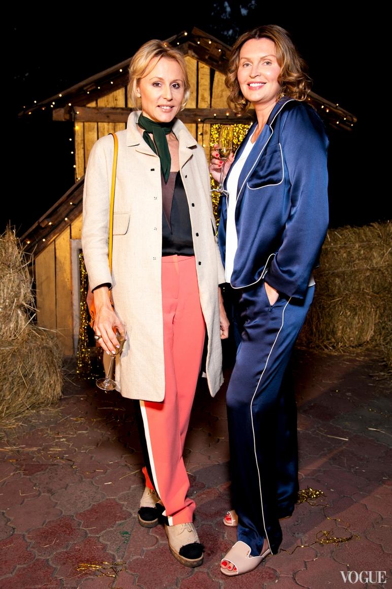 Елена Примак (слева)
