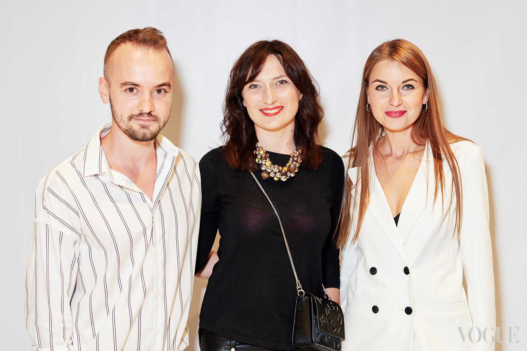 Николай Киз, Елена Хиль и Елена Добрынская