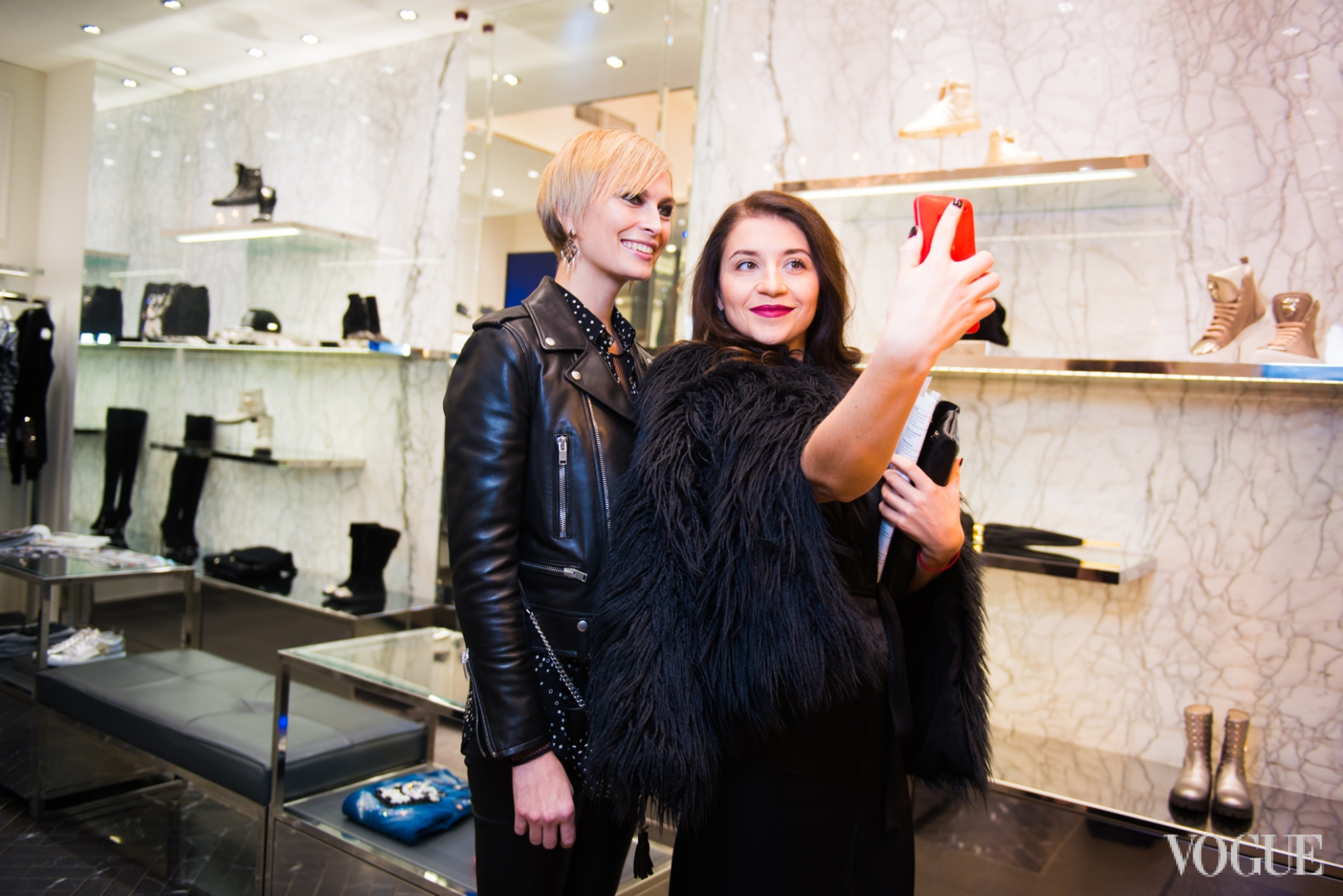 Маша Цуканова и Валентина Тарковская