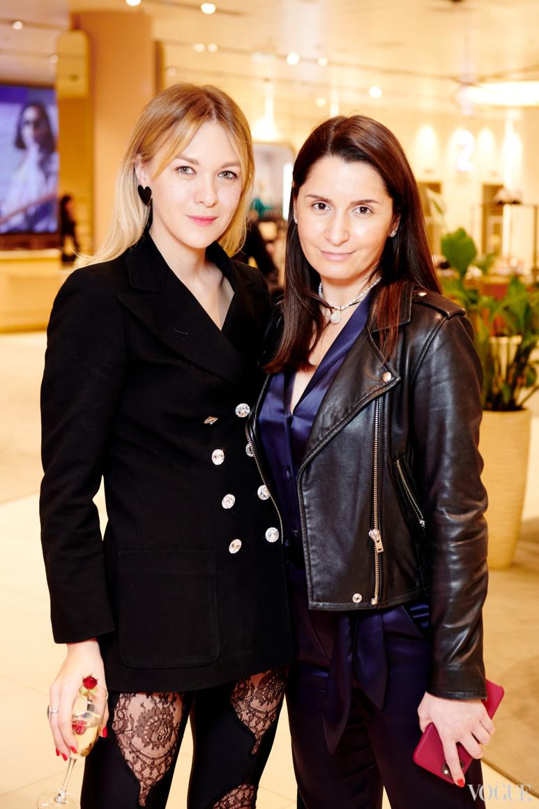 Маруся Коваль и Ольга Чайка