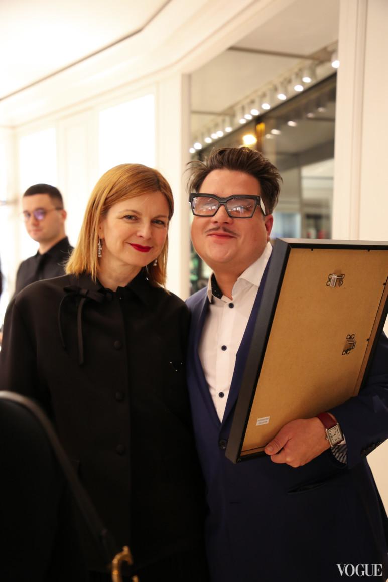 Катерина Кулик і Серж Пає
