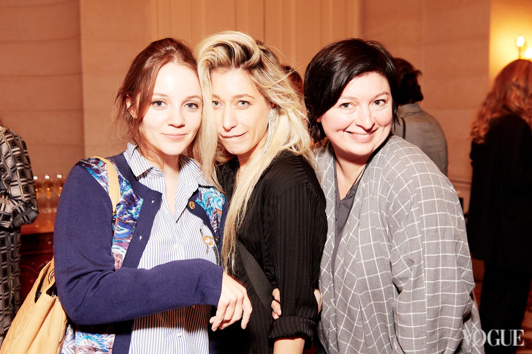 Ольга Курищук, Валерия Ковальская и Кристина Бобкова