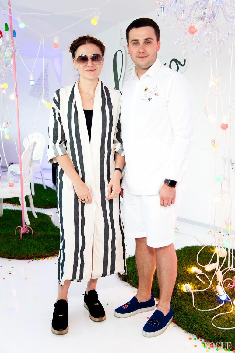 Ольга Слонь и Дмитрий Глущак