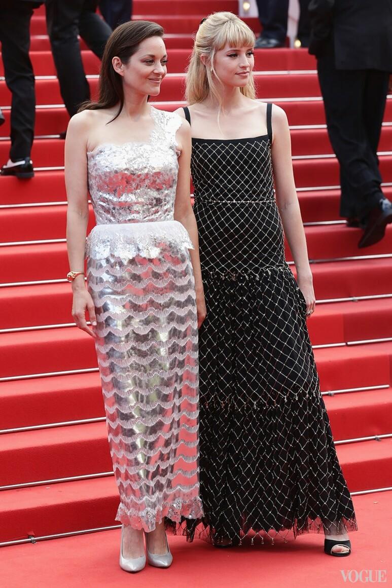 Марион Котийяр и Анжель в Chanel