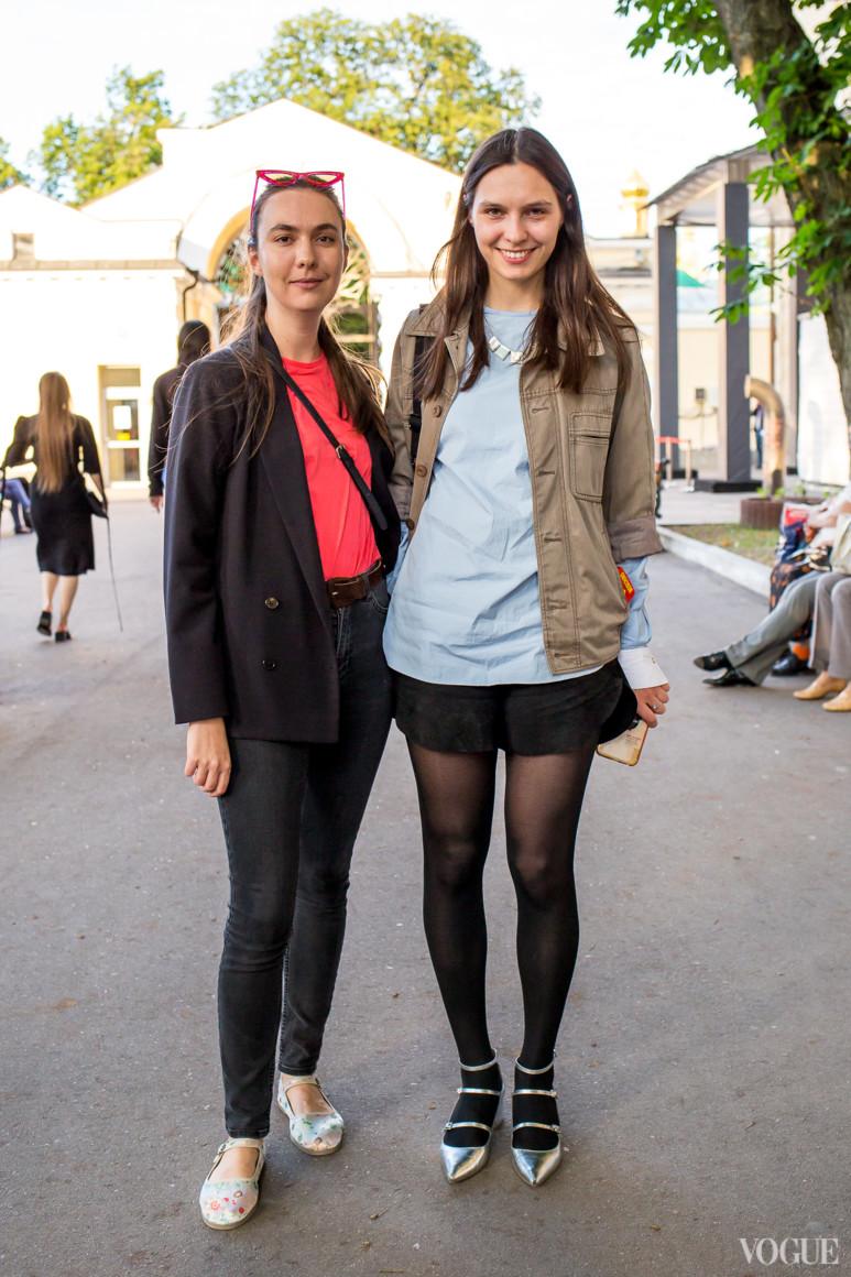 Кристина Обломская и Наталья Моденова