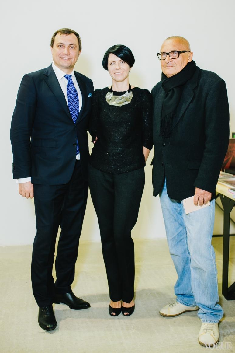 Марина Щербенко, Владимир Будников (справа)
