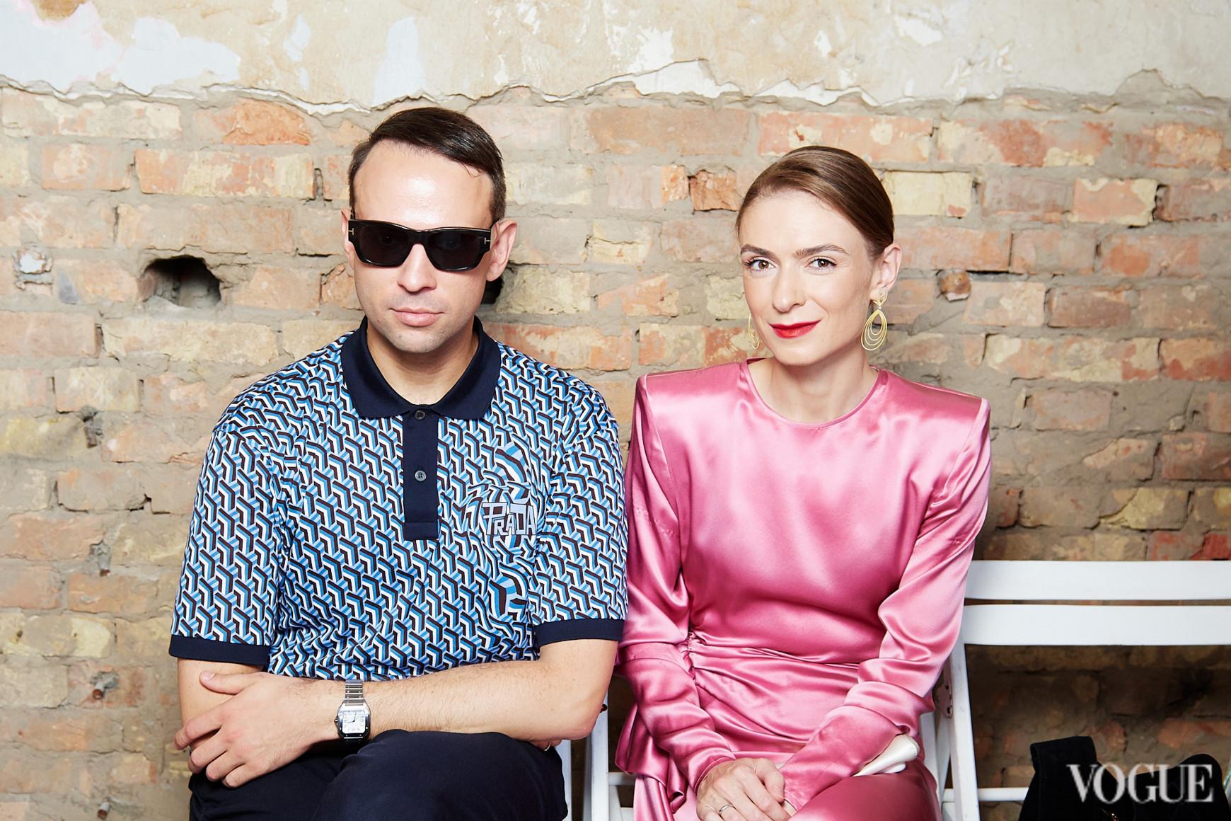 Павел Орлов и Анастасия Цыбуляк