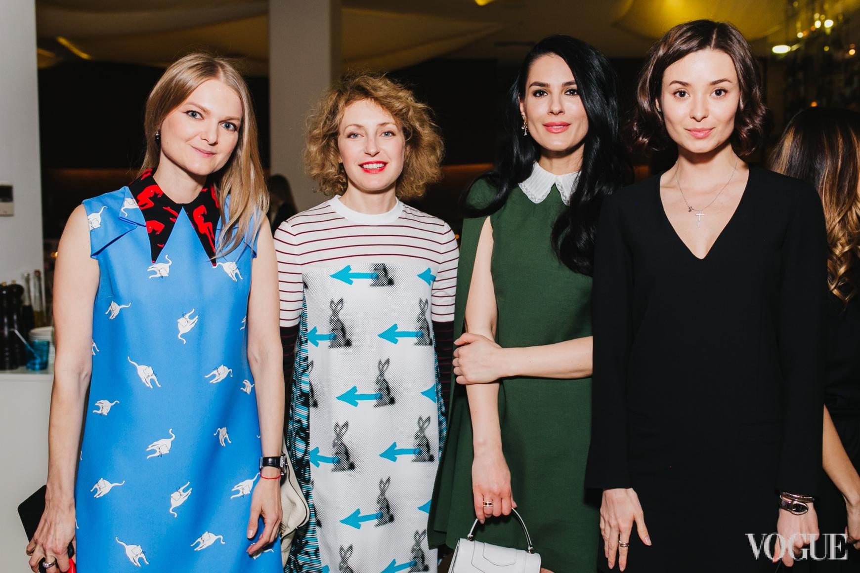 Вера Титова, Светлана ТАккори, Маша Ефросинина  Зоя Литвин