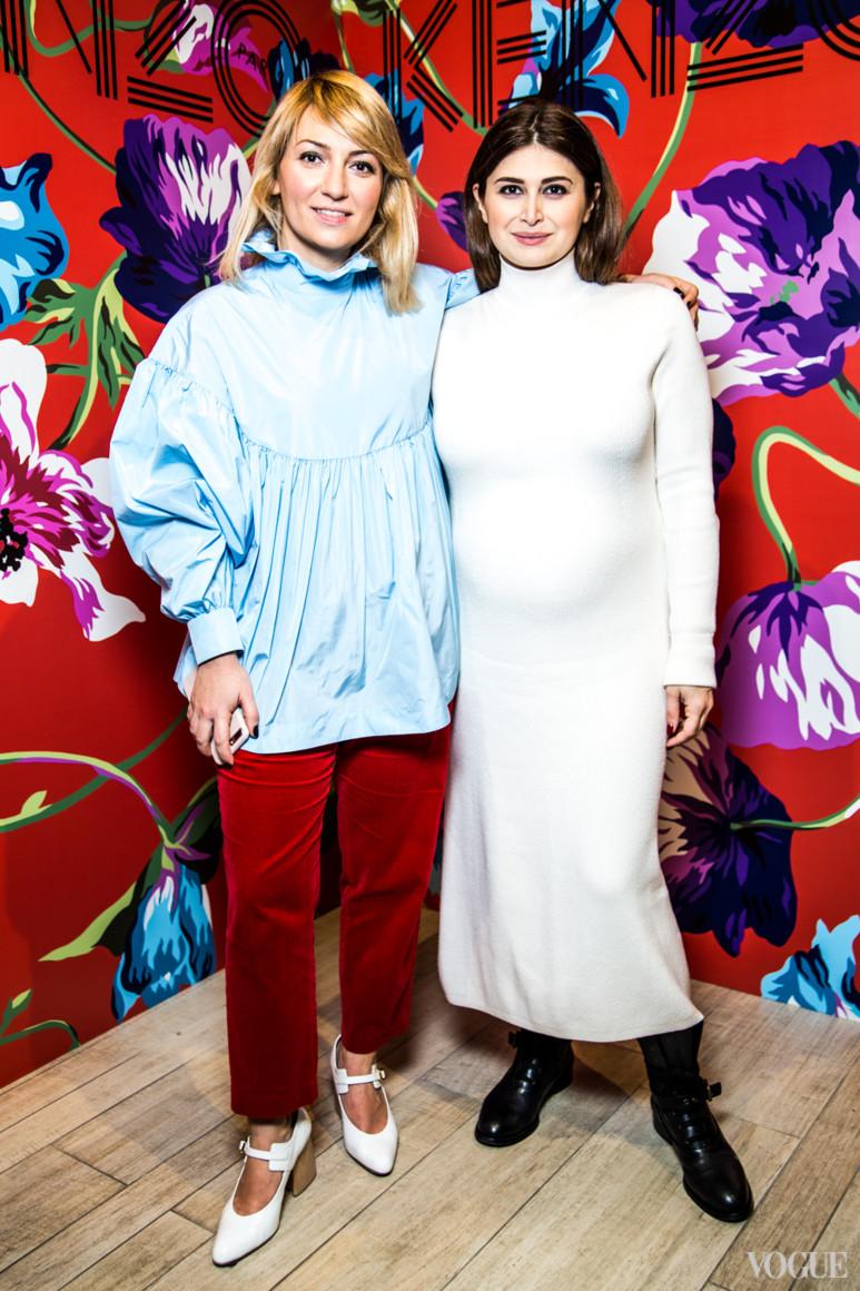 Ася Мхитарян и Нина Васадзе