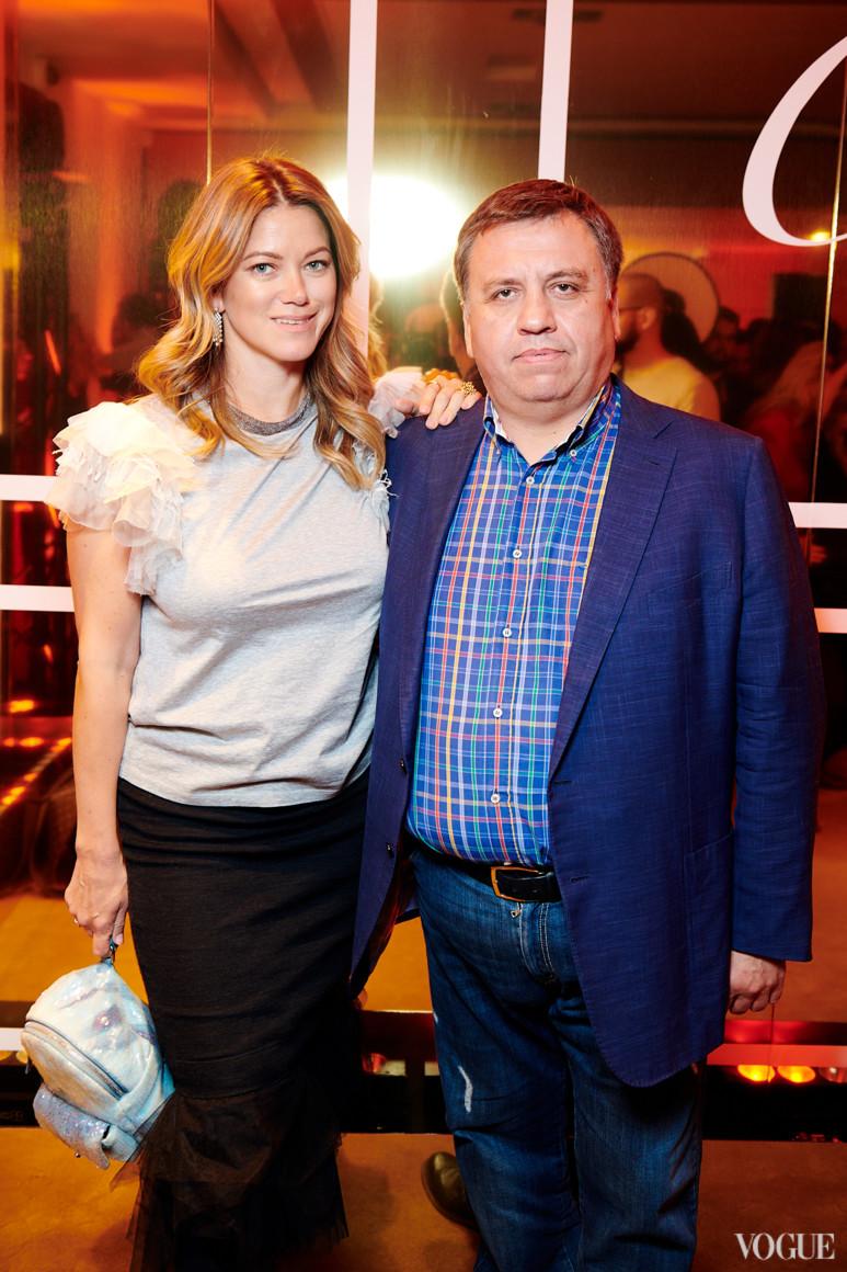 Анна Денисова и Олег Дзюбяк