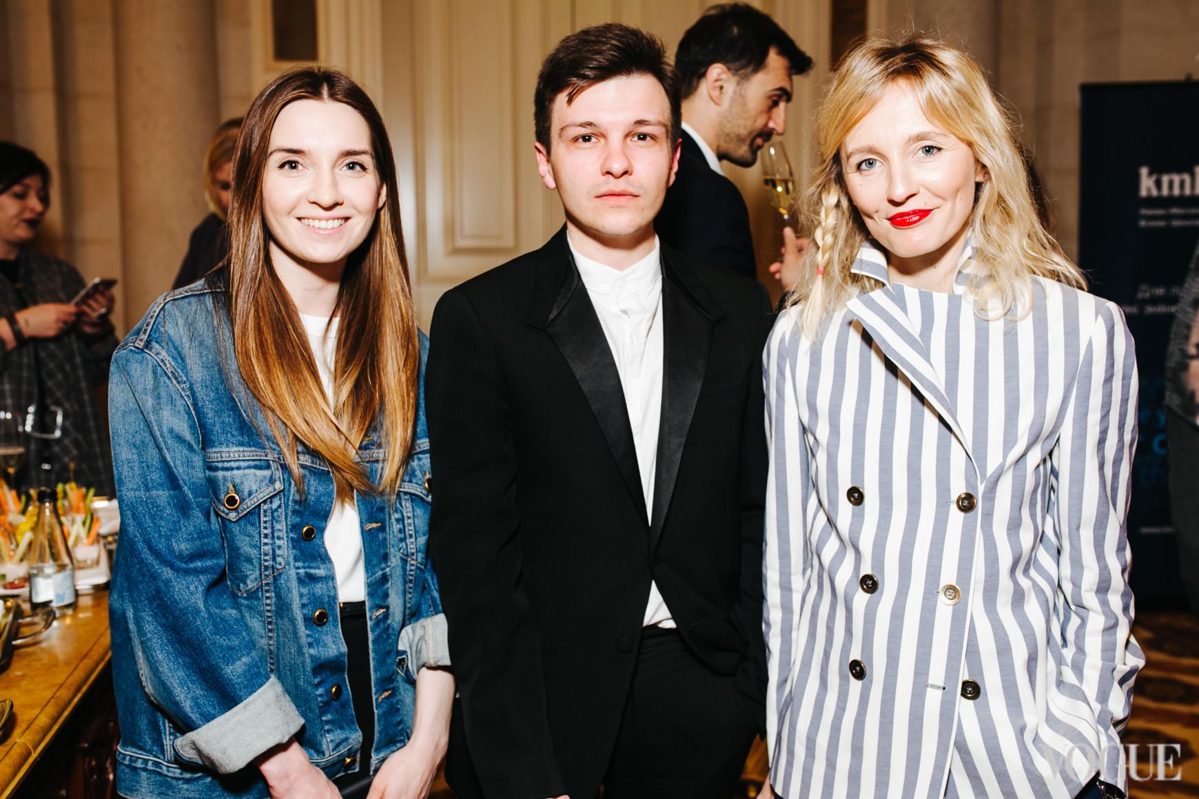 Елена Пащенко, Сергей Ковалев и Анна Пащенко