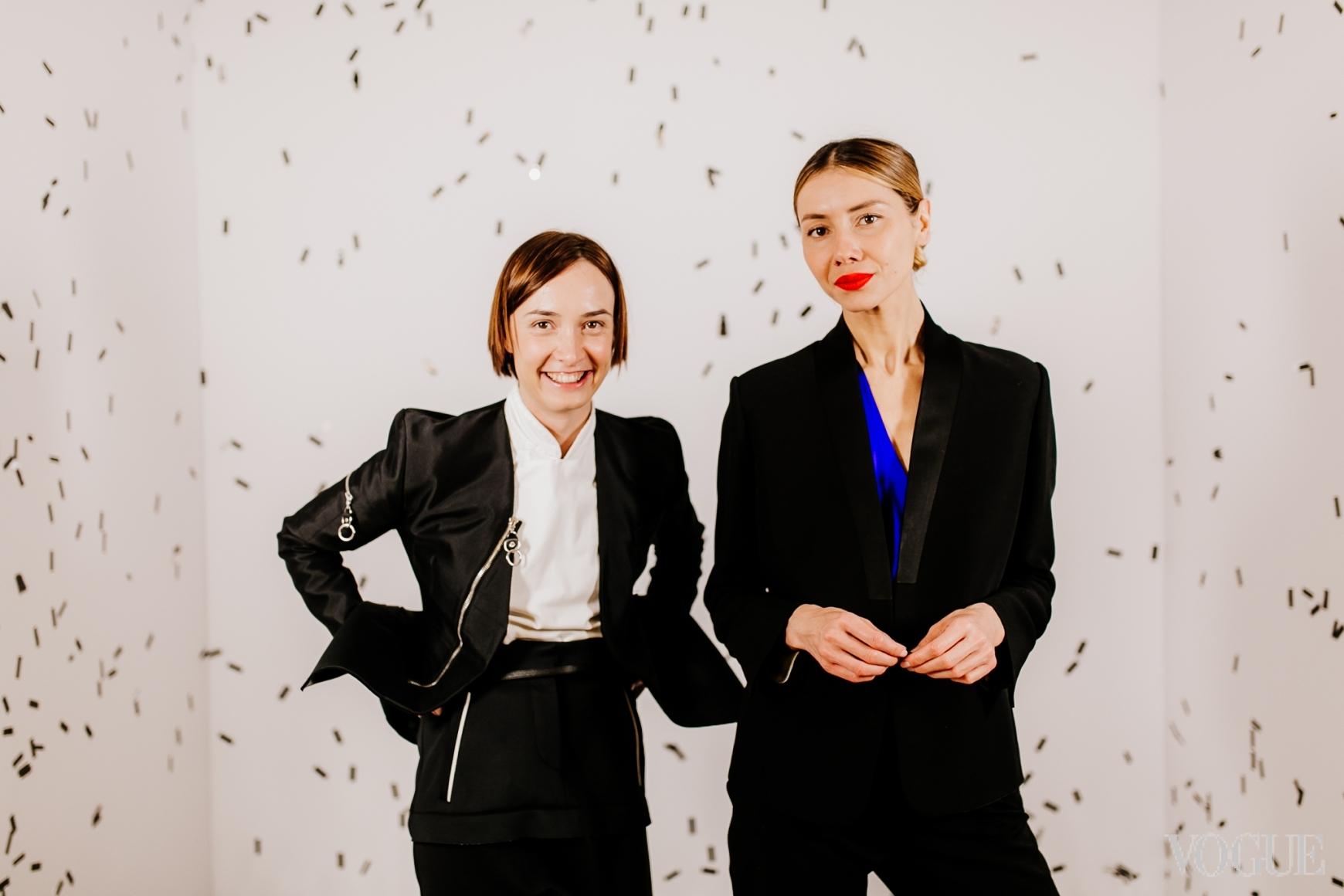 Ольга Сушко и Юлия Пелипас