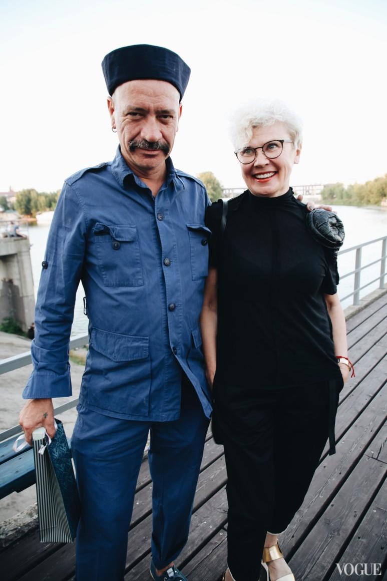 Илья Чичкан и Людмила Березницкая