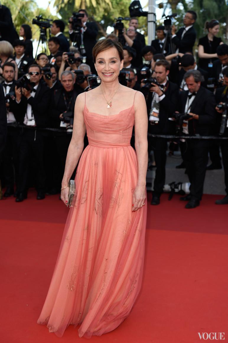 Кристин Скотт-Томас в Christian Dior