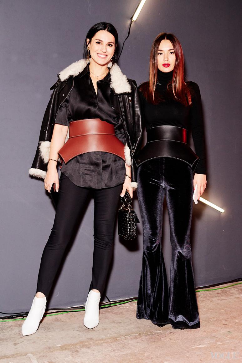 Маша Ефросинина и Лиза Ющенко