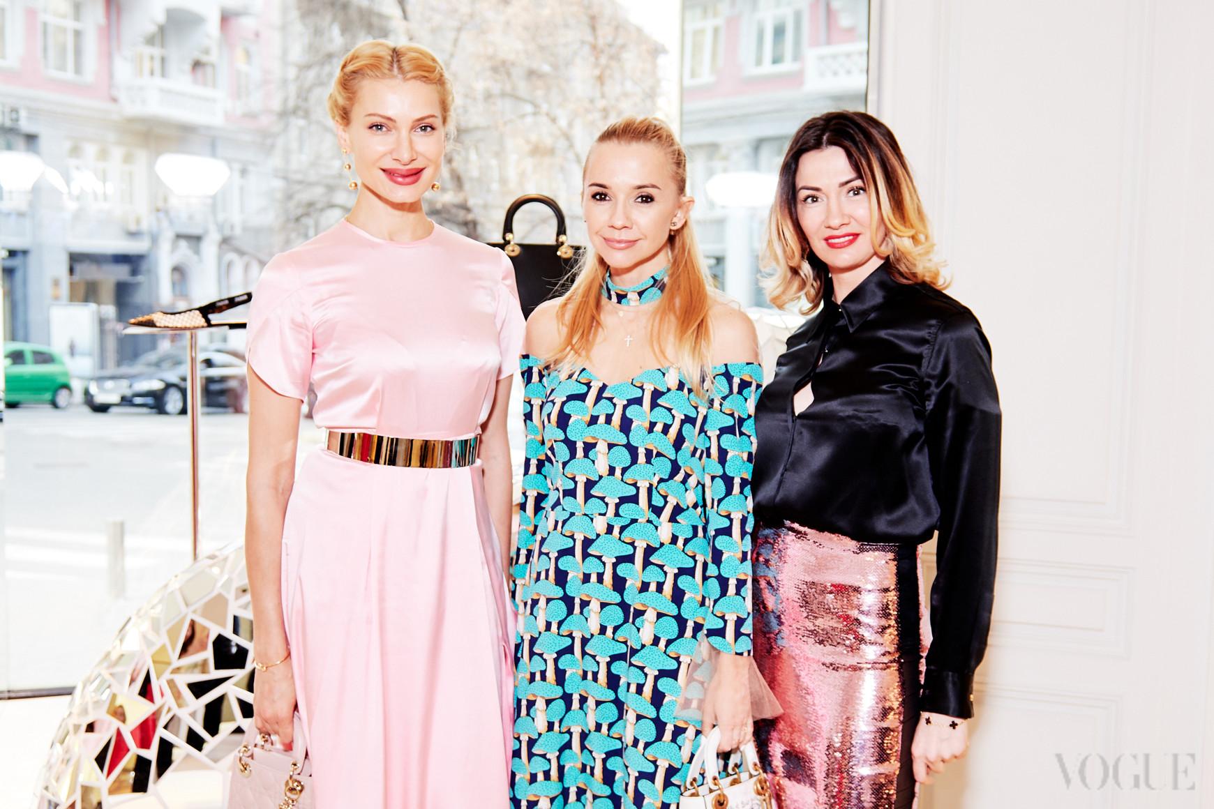 Лана Кауфман, Ирина Турбаевская и Татьяна Гойхман