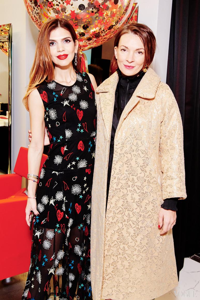 Алина Алиева и Полина Неня