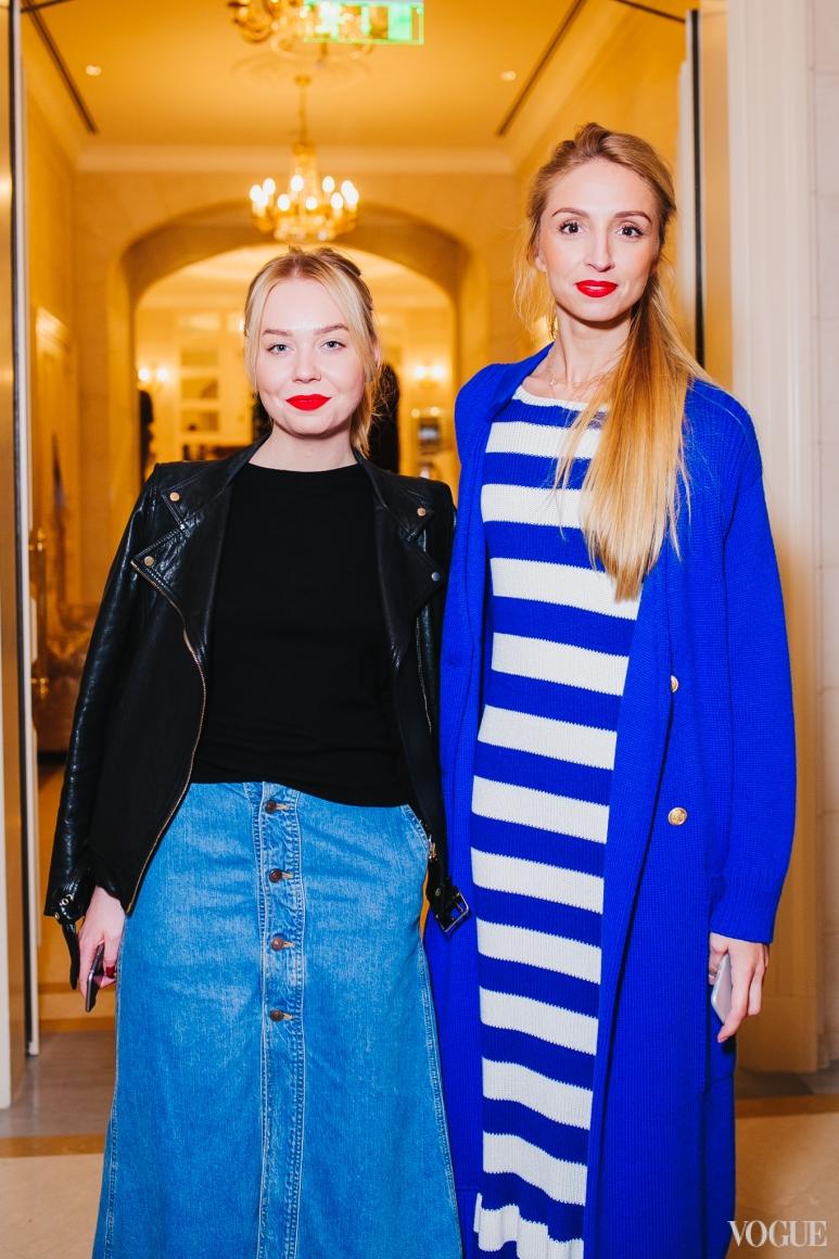 Катерина Квит и Оксана Голубченко
