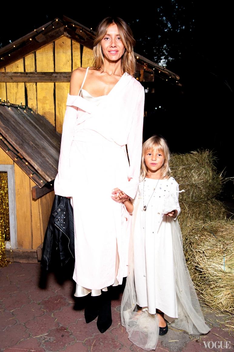Юлия Пелипас с дочкой
