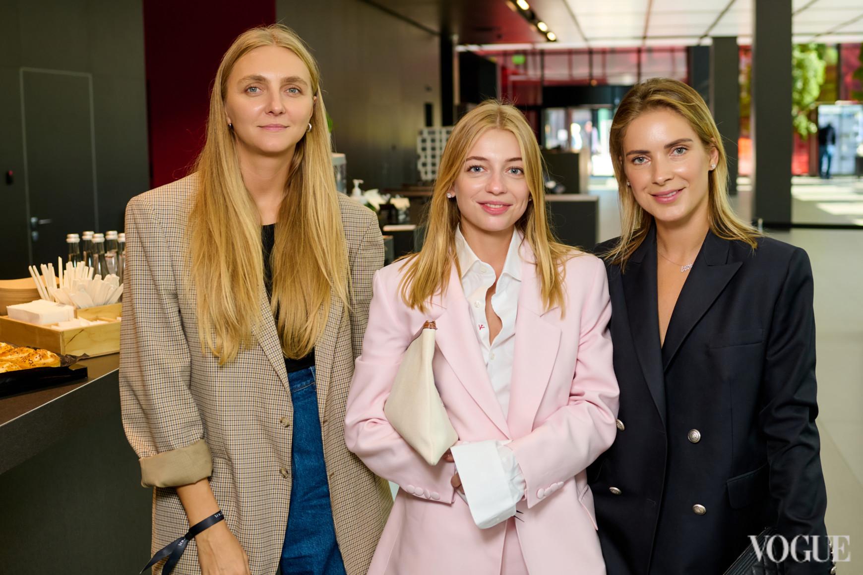 Ксения Шнайдер, Катерина Рыжова и Алина Долинина