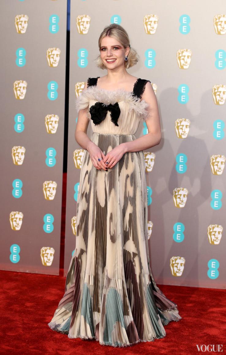 Красная дорожка церемонии вручения наград BAFTA 2019